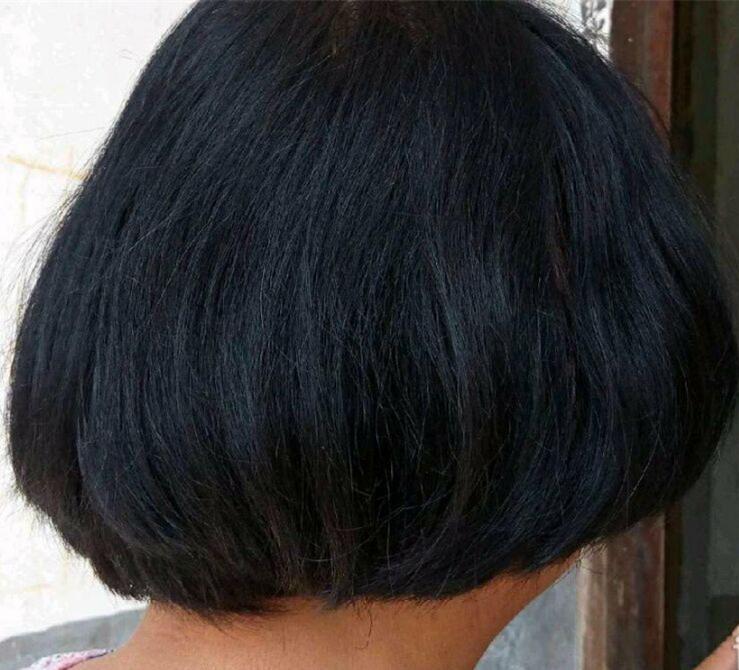 给妈妈买的植物清水黑发